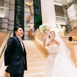 挙式後のサプライズプロポーズの写真 8枚目
