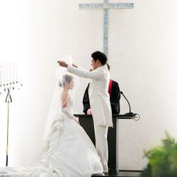 指輪交換💍誓いのキスの写真 4枚目