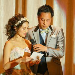 花嫁手紙、両親記念品贈呈の写真 1枚目