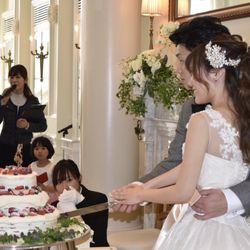 ケーキ入刀の写真 2枚目