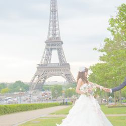 パリ前撮りの写真 4枚目