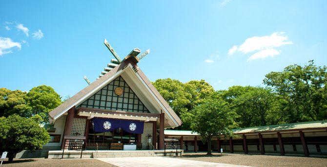 千葉縣護国神社のカバー写真