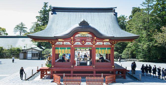鶴岡八幡宮のカバー写真