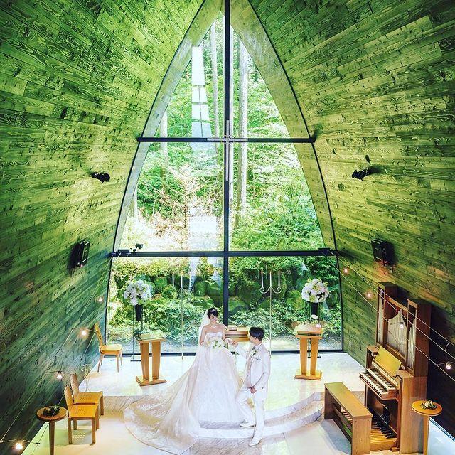 hakone_bridalさんの箱根の森高原教会・ホテルグリーンプラザ箱根写真1枚目