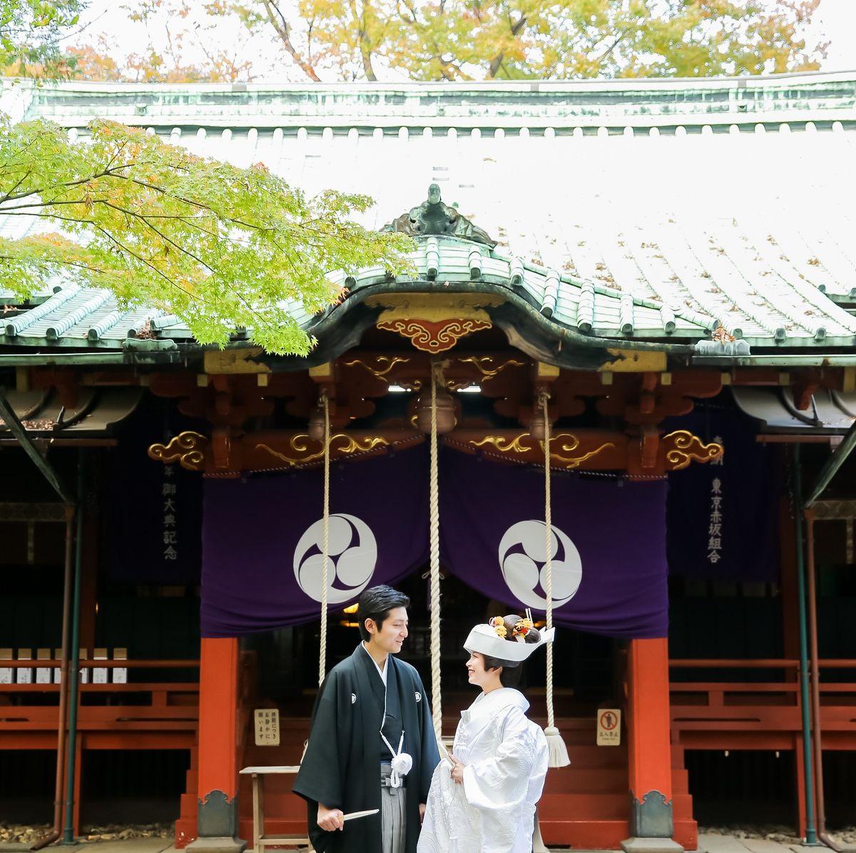赤坂氷川神社の公式写真1枚目