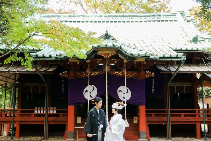 赤坂氷川神社のカバー写真