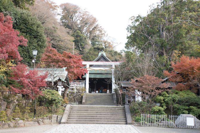 鎌倉宮のカバー写真