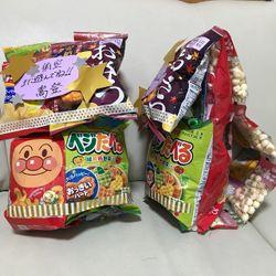 新郎退場 お菓子のリュックの写真 1枚目