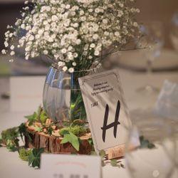 披露宴会場の装花や装飾の写真 10枚目