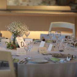 披露宴会場の装花や装飾の写真 9枚目