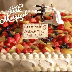 ケーキ入刀やケーキサーブの写真 7枚目