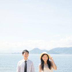 直島前撮りの写真 12枚目