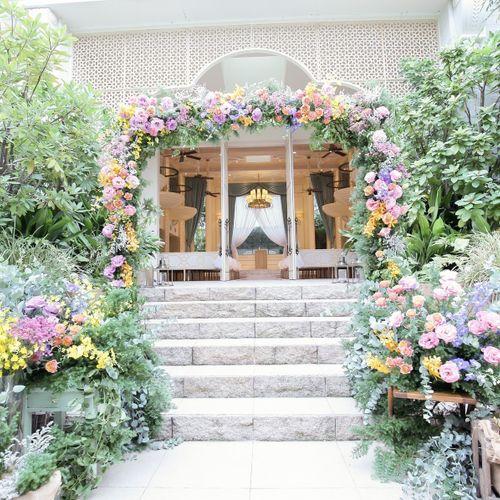 ガーデン装花の写真 1枚目