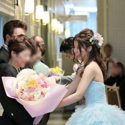 披露宴②カラードレスの写真 2枚目