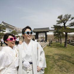 前撮り(大阪城)の写真 10枚目