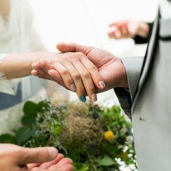 結婚式ネイルの写真 1枚目
