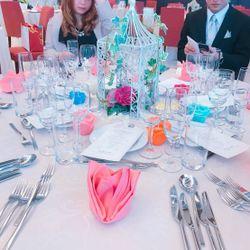 テーブル・装花の写真 1枚目