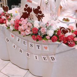 テーブル・装花の写真 2枚目