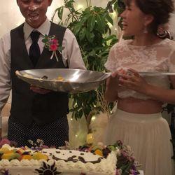 二次会ケーキの写真 2枚目