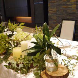 会場装飾装花の写真 1枚目