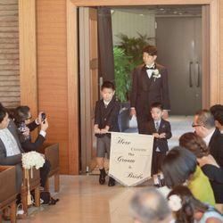 支度〜ファーストミート〜挙式の写真 19枚目