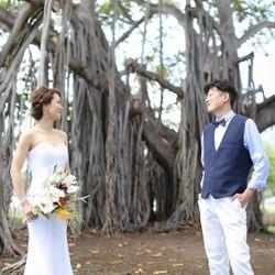 結婚式後撮りの写真 1枚目