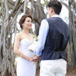結婚式後撮りの写真 2枚目