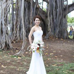 結婚式後撮りの写真 4枚目