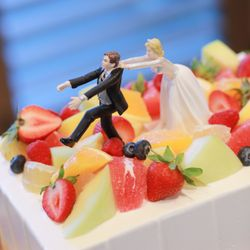 乾杯〜ケーキ入刀〜お色直し〜退場の写真 2枚目