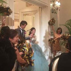 披露宴カラードレスの写真 11枚目