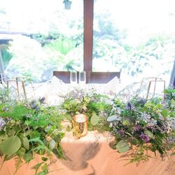 テーブルコーデ・装花の写真 5枚目