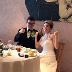 タキシード&白ドレスの写真 13枚目