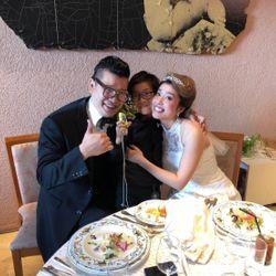 タキシード&白ドレスの写真 7枚目