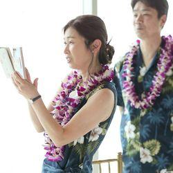 【ハワイ挙式】パーティーの写真 1枚目