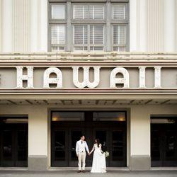 ハワイ挙式_ダウンタウン撮影の写真 2枚目