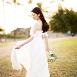 ハワイ挙式_サンセット撮影の写真 9枚目