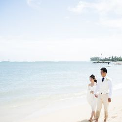 ハワイ挙式_ビーチ撮影の写真 2枚目