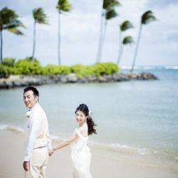 ハワイ挙式_ビーチ撮影の写真 4枚目