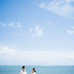 ハワイ挙式_ビーチ撮影の写真 5枚目