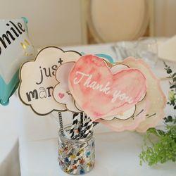 披露宴会場装花、テーブルコーディネートの写真 2枚目