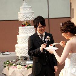 ケーキ入刀・ファースト・サンクスバイトの写真 2枚目