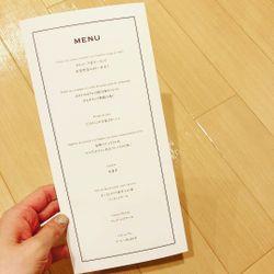 オリジナルデザインの招待状と席次表の写真 4枚目