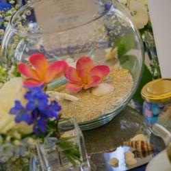高砂、ゲストテーブルの写真 1枚目