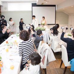 家族挙式の写真 25枚目