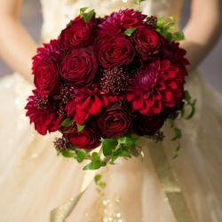 花束&指輪の写真 1枚目