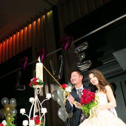カラードレス 披露宴の写真 2枚目