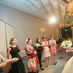 カラードレス 披露宴の写真 5枚目