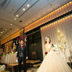 カラードレス 披露宴の写真 6枚目