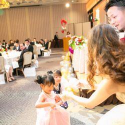 カラードレス 披露宴の写真 7枚目