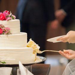 ウエディングケーキ の写真 1枚目